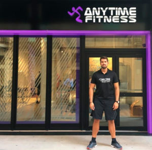 Primer gimnasio 24 horas de Igualada, Anytime Fitness